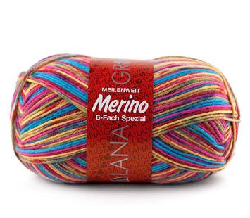 Meilenweit 150 6fach Merino