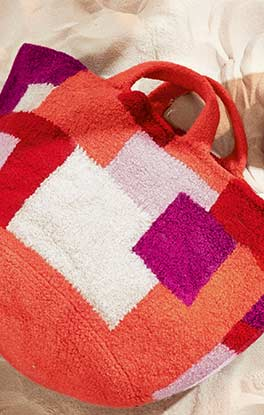 Tetris-Strandtasche