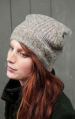 Mütze Glatt-Links und Glatt-Rechts
