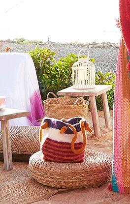 bunte Ibiza-Tasche
