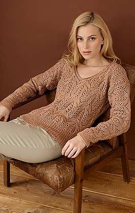 Pullover mit raffiniertem Muster