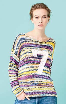 Effektvoller Pullover