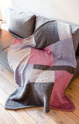Decke in Farbflächen