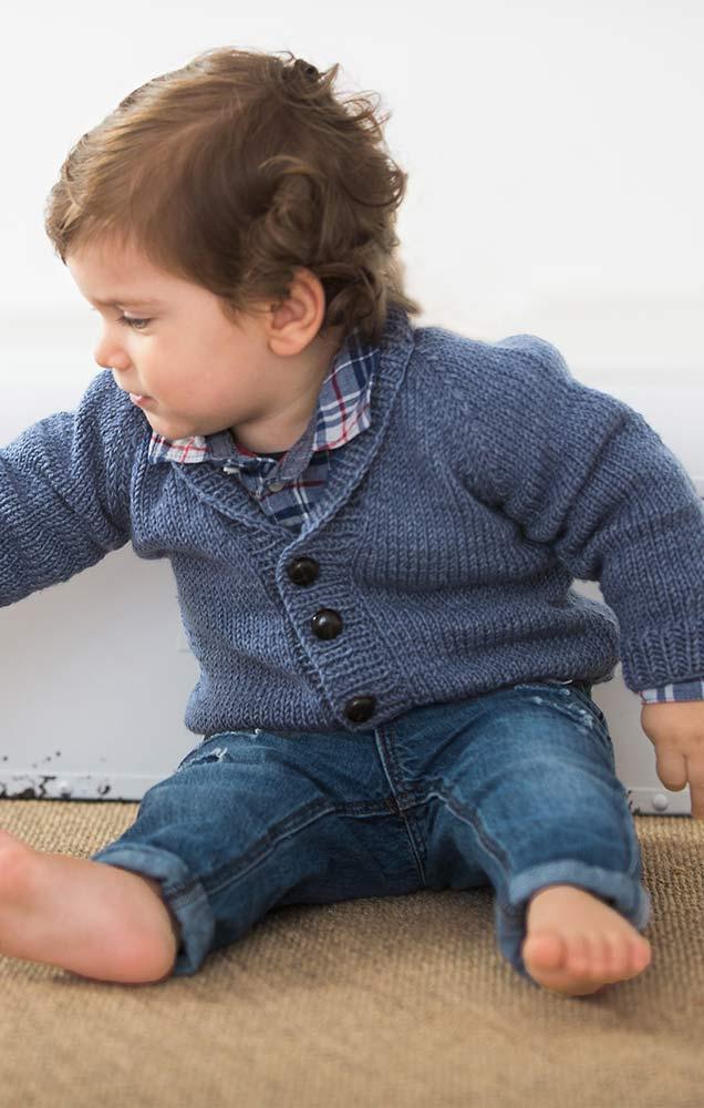 jacke mit schalkragen und raglan rmeln infanti 12. Black Bedroom Furniture Sets. Home Design Ideas