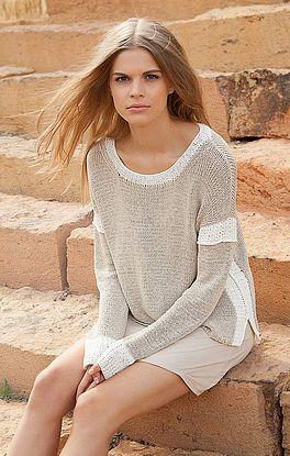 sportlich-eleganter Sweater