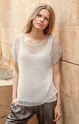 luxuriöses Netzhemd