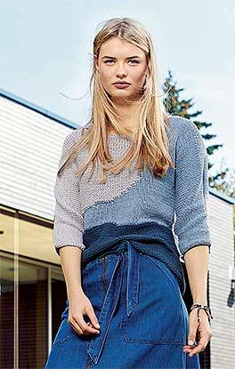Raffinierter Pullover im Streetstyle